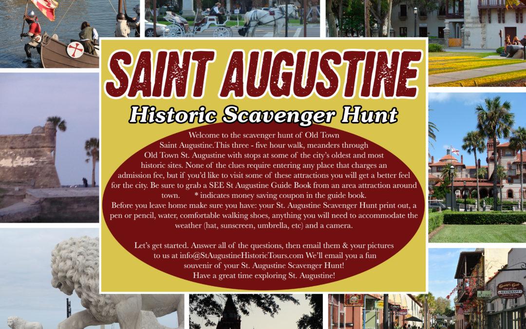 St Augustine Scavenger Hunt